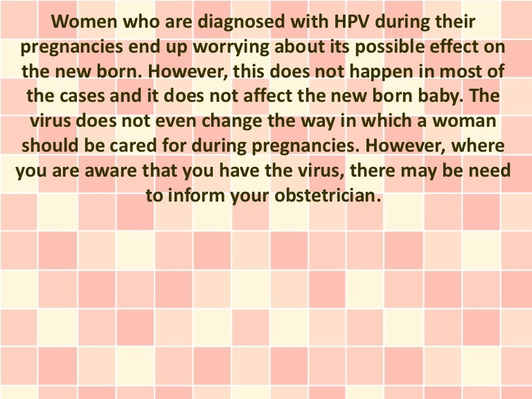 hpv virus can you get pregnant